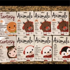 8 Animalz & Fantasy Masque Bar Sheet Masks